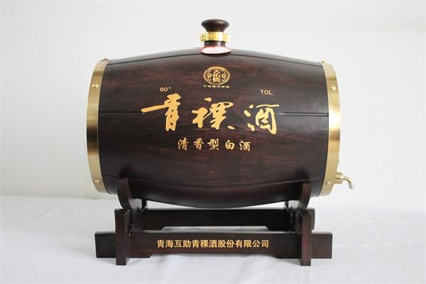 青稞酒酒桶
