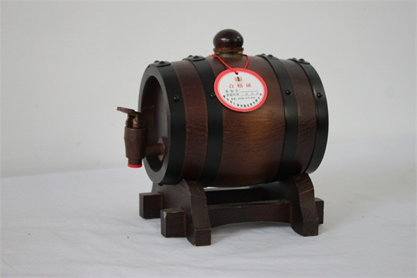 小型实木酒桶